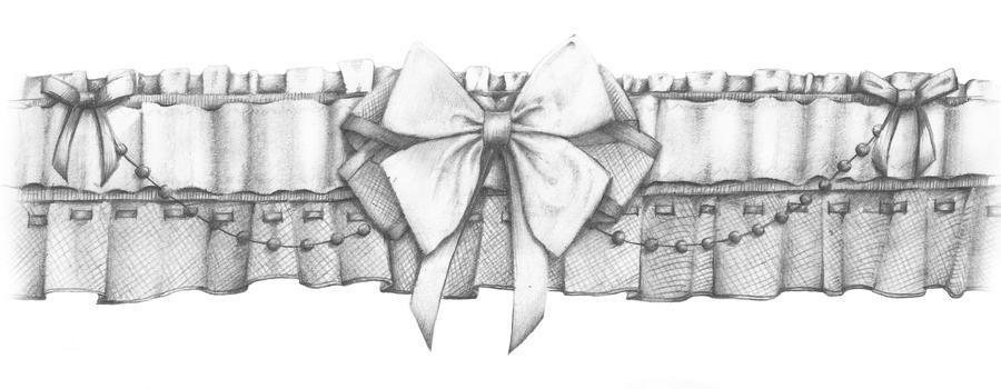 garter tattoo templates - garter by 05na on deviantart