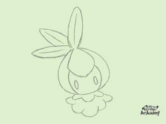 Pokemon Art Academy - Petilil (Quick Sketch) by GamerGyrl