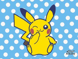 Pokemon Art Academy - Pikachu by GamerGyrl