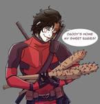 Deadpool B by IkaTheMadHatter