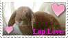 Lop Lover Stamp by mookeybrain