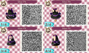 Animal Crossing New Leaf QR Code: Silver Pit
