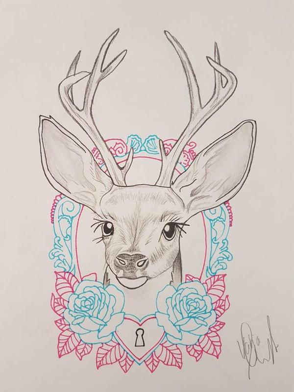 bambi zeichnen