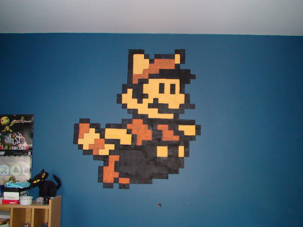 Mario 3 on my wall