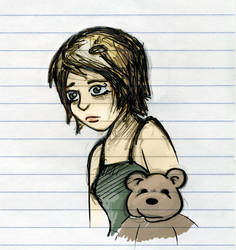 Bear sadness by FredoSquirrel