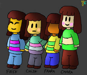 Frisk, Chisk, Frara and Chara