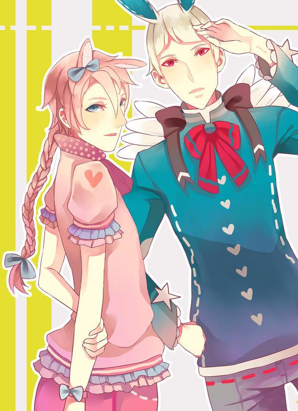 [Contest] Raito and Kei by usakumame