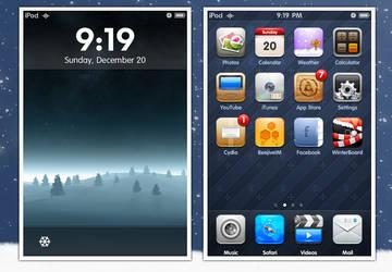 Dec. 20 - Holiday iPod SS by kawsone