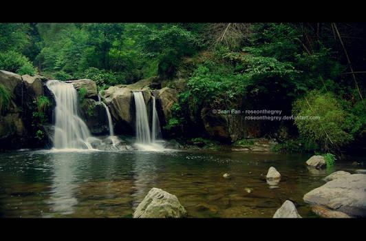 Lu Mountain Waterfall, Jiangxi