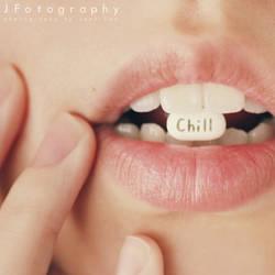 take a chill pill by JeanFan