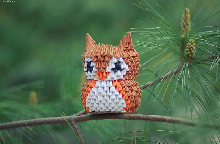 3D Origami Owl By JeanFan