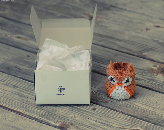 3D Origami Cat - Merry Christmas | This was done all by pape… | Flickr | 550x696