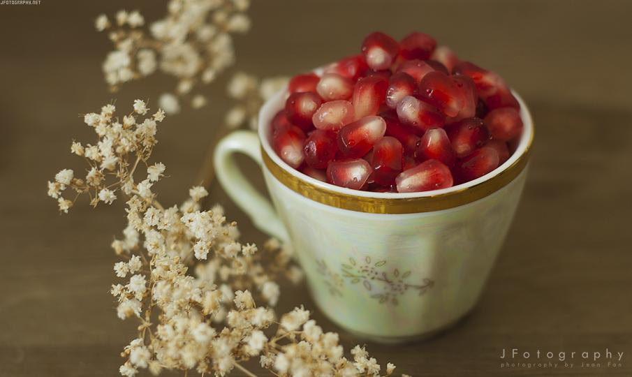 Pomegranate by JeanFan