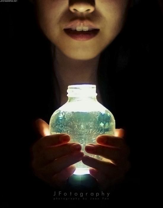 a liter of light by JeanFan
