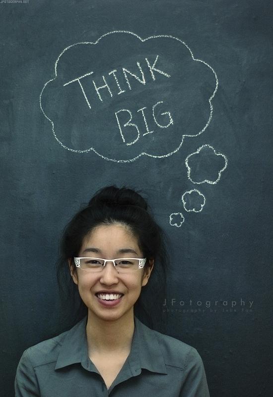 THINK BIG by JeanFan