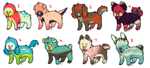 Flatesale Pup Adopts [1/8 OPEN]