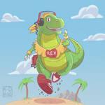 Runnng Dino