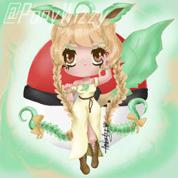 Leafeon Chibi Girl