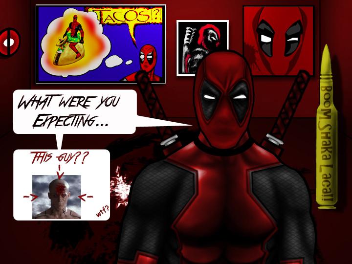Deadpool's return by WolfBloodStudios