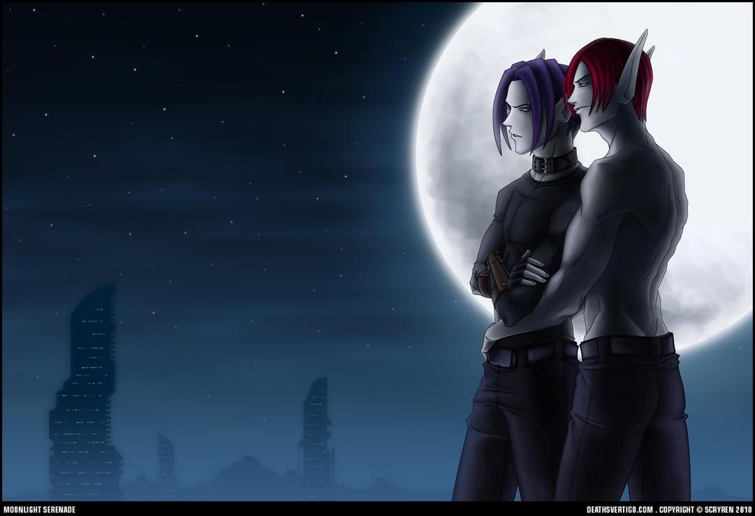 Moonlight Serenade .v2 by scryren