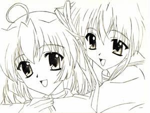 Nemu and Sakura