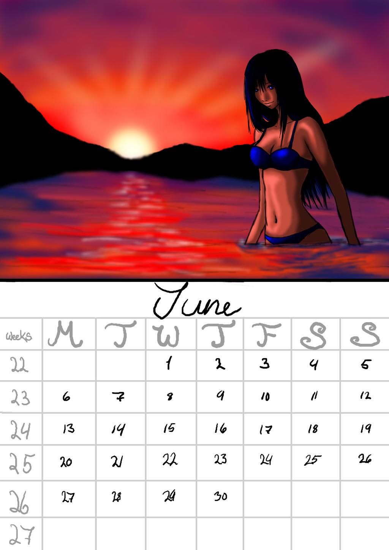 Deviantart Calendar : Calendar june by karovie on deviantart