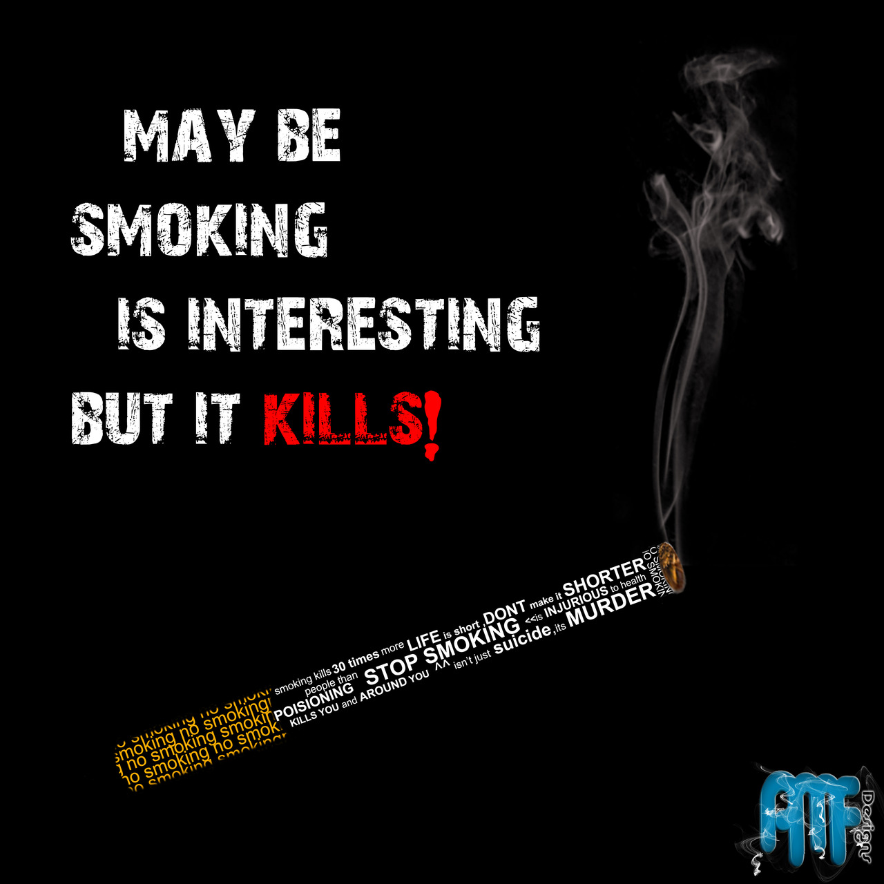 No smoking by amfdesigns on deviantart - No smoking wallpaper download ...