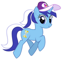 Minuette with ponytail by the-bitterman