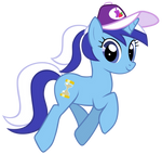 Minuette with ponytail