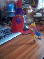 HJ and CM paper children by Gurulazer