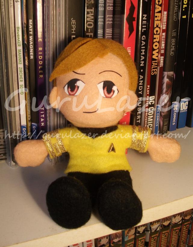 Star Trek - Kirk plushie by Gurulazer