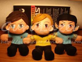Star Trek - plushie group by Gurulazer