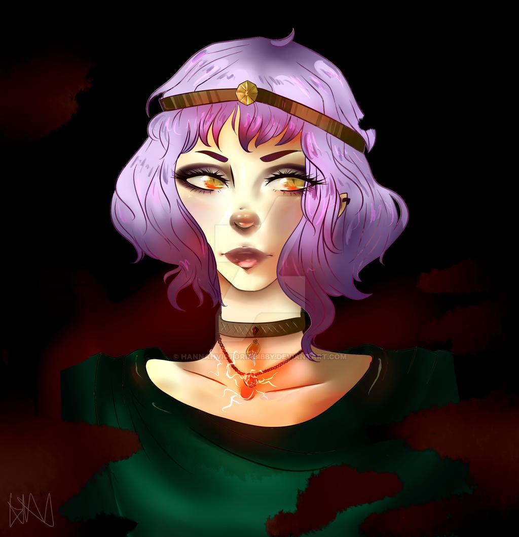 Luna - Coloured by HannahVictoriaBibby