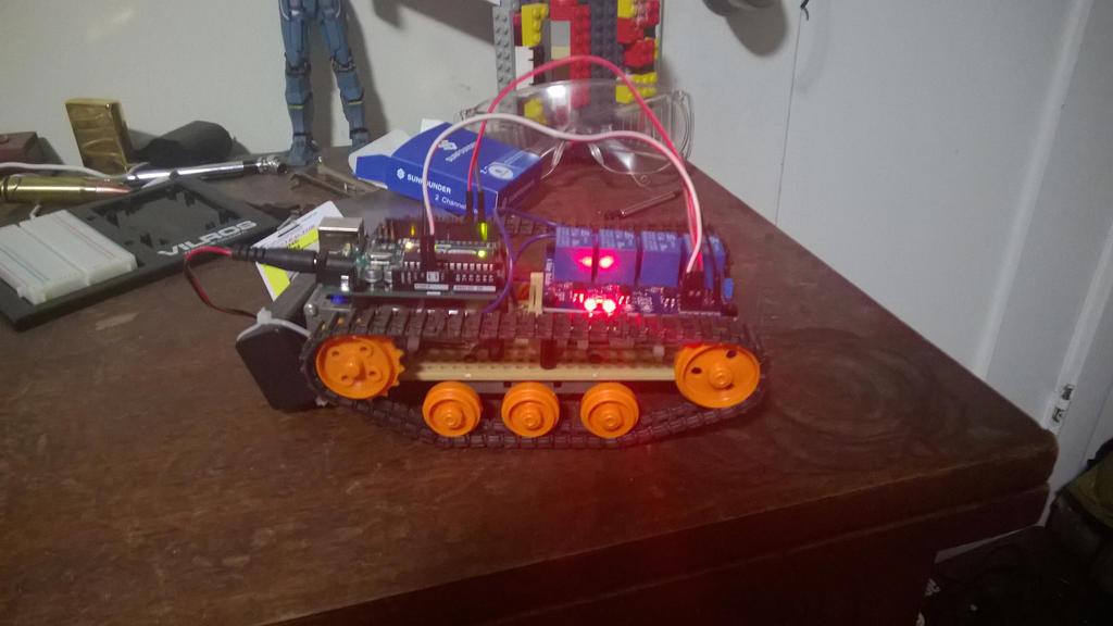 Robot Tank WIP by ZealousSteven