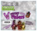 Freddy Fazbars (Fan-Made Candy Wrapper) (FNAF)