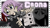 Crona - Stamp (Soul Eater) by AngelOfTheWisp