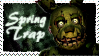 Springtrap - Stamp (FNAF3) by AngelOfThe9thRune