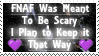 Keeping it Scary - FNAF Stamp by AngelOfThe9thRune