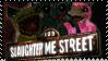 123 Slaughter Me Street - Stamp