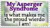 Asperger Syndrome FTW - Stamp by AngelOfThe9thRune