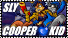 Sly Cooper Kid - Stamp by AngelOfTheWisp