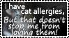 Cat Allergies - Stamp by AngelOfThe9thRune