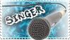 Singer - Stamp by AngelOfTheWisp
