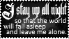 Stay Up All Night - Stamp by AngelOfTheWisp