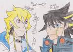 colored jack and yusei