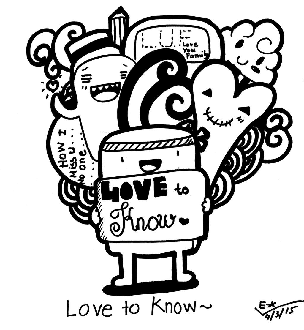 Doodle Art - (LOVE TO KNOW~) by yagakawa on DeviantArt