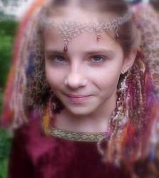 yarn hair by glittergurrrl