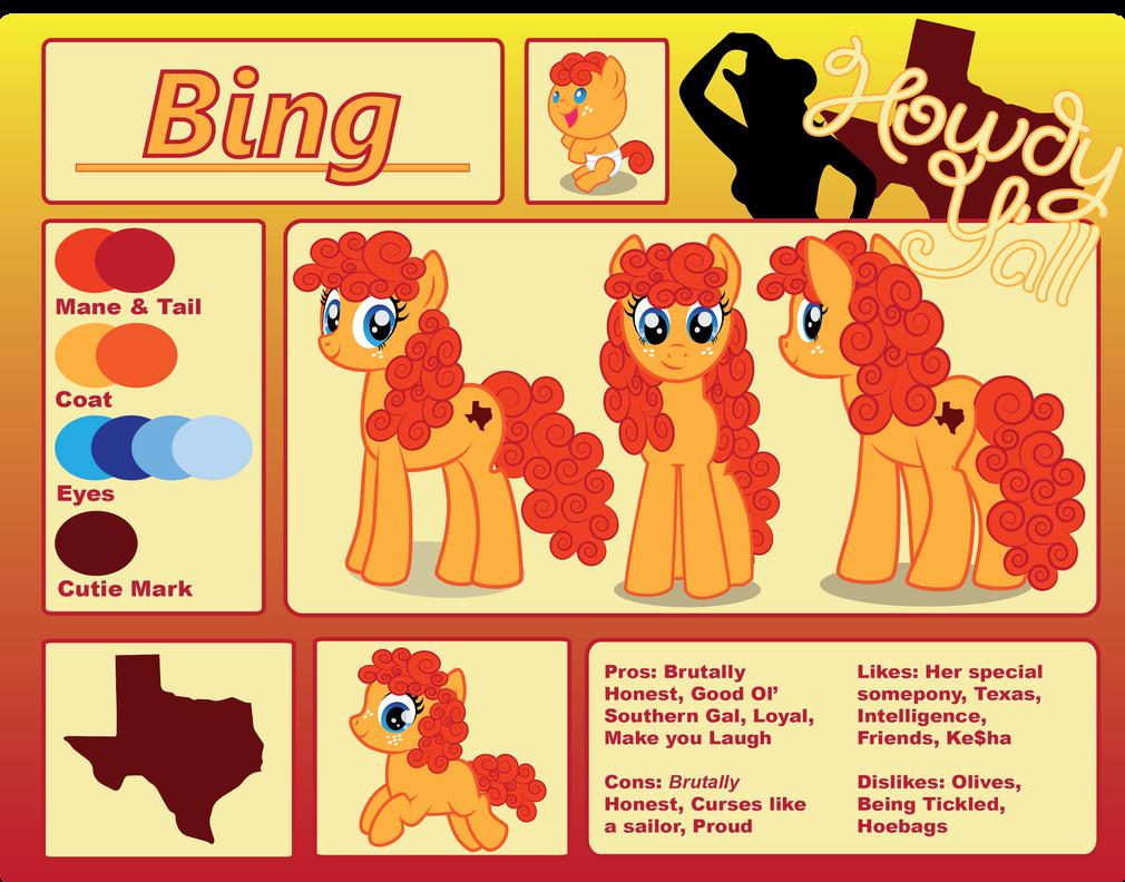 Bing Reference Sheet by benybing