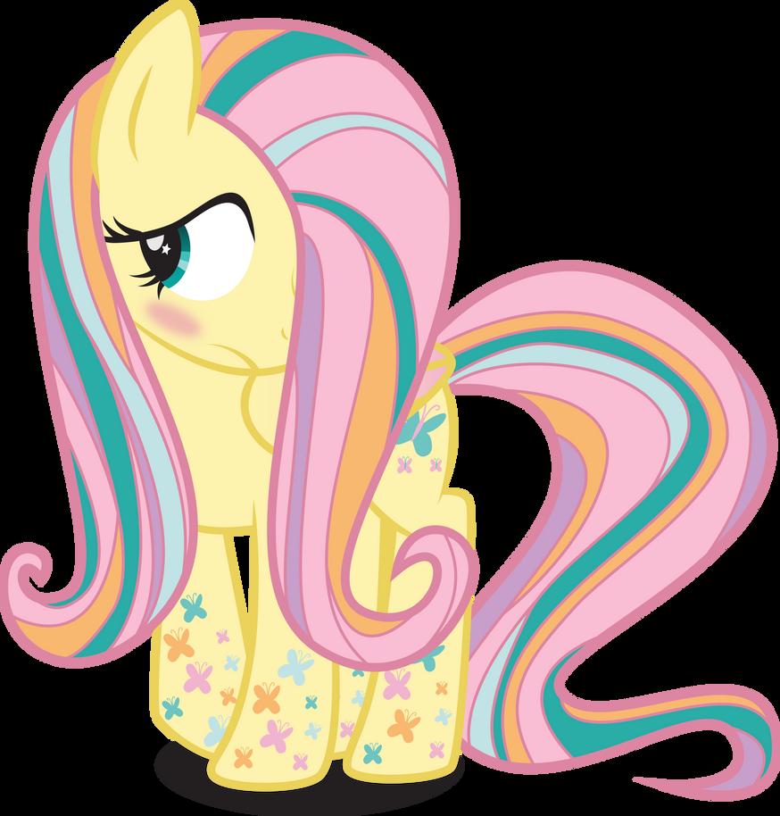 Rainbow Power Fluttershy by benybing on DeviantArt