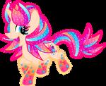 Commission Type: SV: Rainbow Power (Doodle)